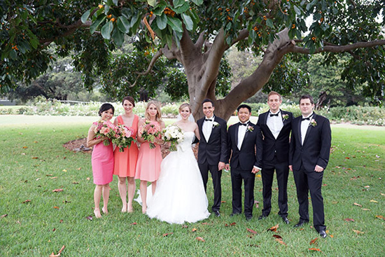 peach and pink formal wedding0021 Dorothee and Ashleys Peach And Pink Formal Wedding