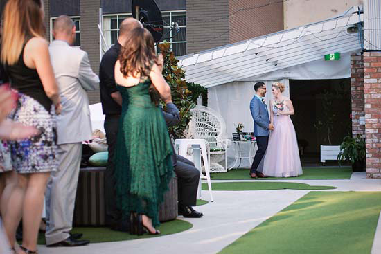 romantic rooftop wedding0022 Ellen and Adams Romantic Rooftop Wedding