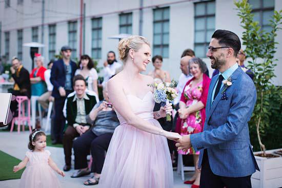 romantic rooftop wedding0024 Ellen and Adams Romantic Rooftop Wedding