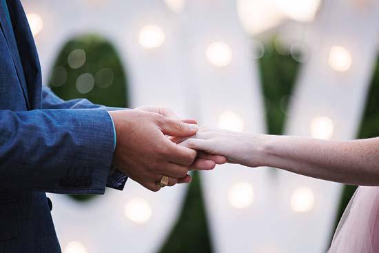 romantic rooftop wedding0040 Ellen and Adams Romantic Rooftop Wedding