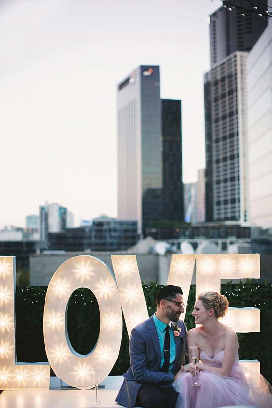 romantic rooftop wedding0063 Ellen and Adams Romantic Rooftop Wedding