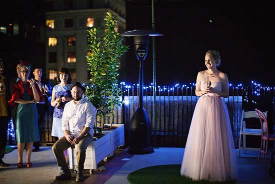 romantic rooftop wedding0072 Ellen and Adams Romantic Rooftop Wedding