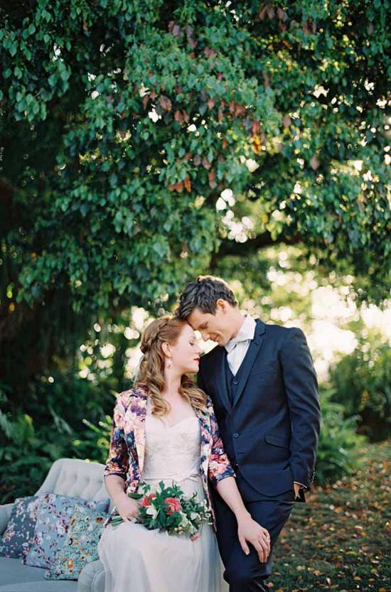 vintage floral wedding inspiration0009