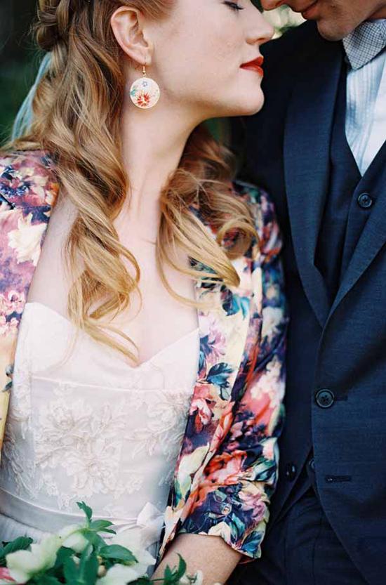 vintage floral wedding inspiration0014