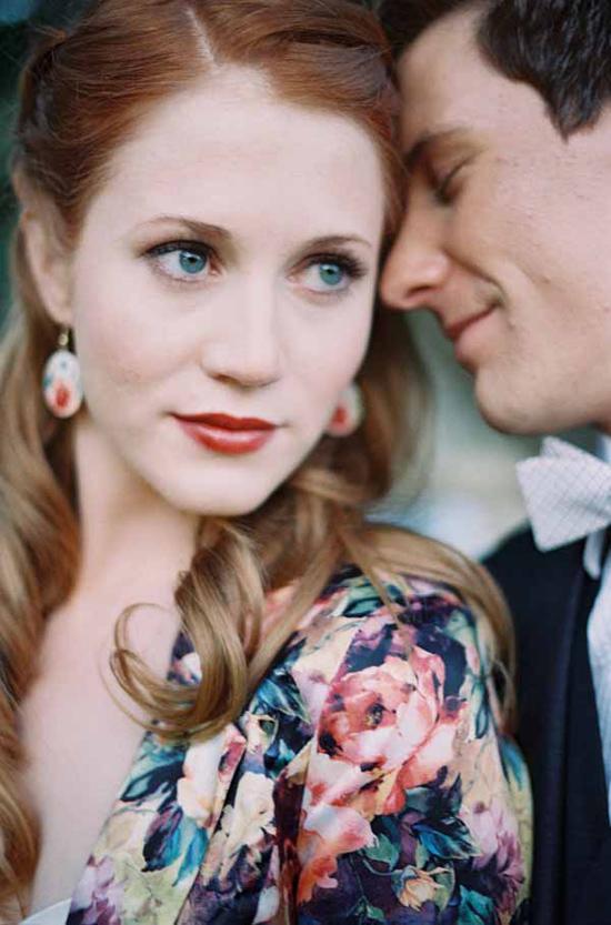 vintage floral wedding inspiration0049