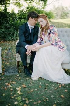 vintage floral wedding inspiration0085