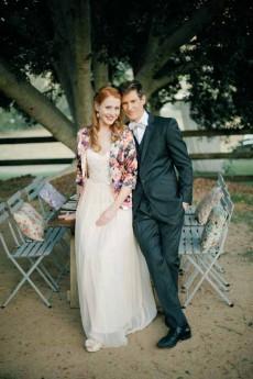 vintage floral wedding inspiration0134