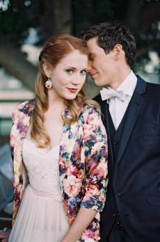 vintage floral wedding inspiration0137