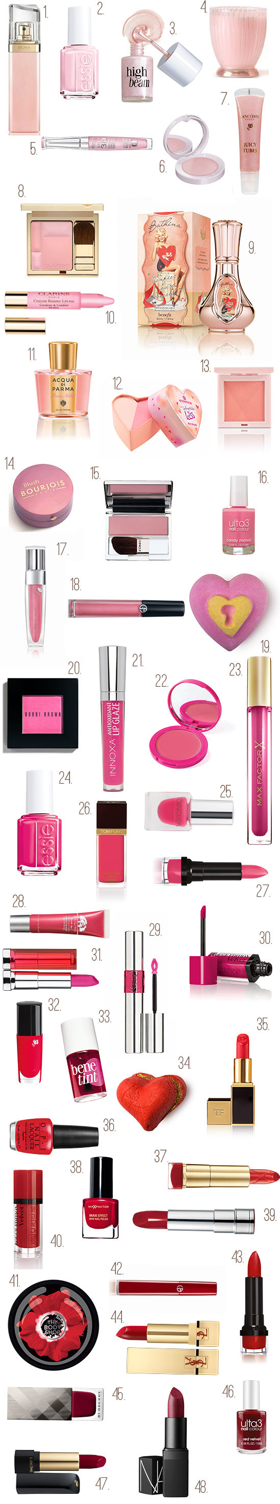 Beauty Products For Valentines Day