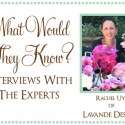 Rachel of Lavande Designs