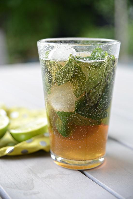 Spiced Rum Mojito