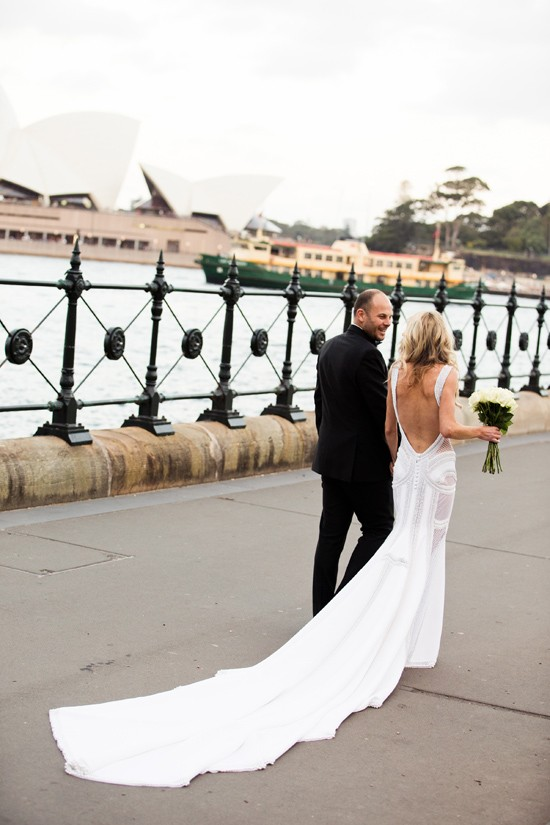 elegant black tie wedding0087