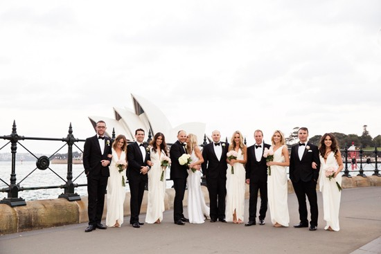 elegant black tie wedding0096