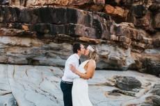 realxed beachside wedding0069