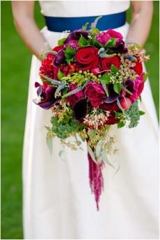 red gold navy wedding ideas0060