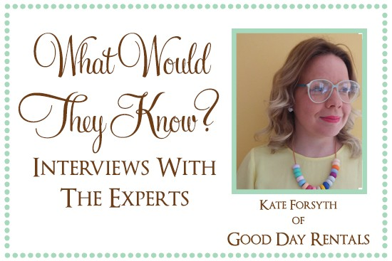 Kate of Good Day Rentals