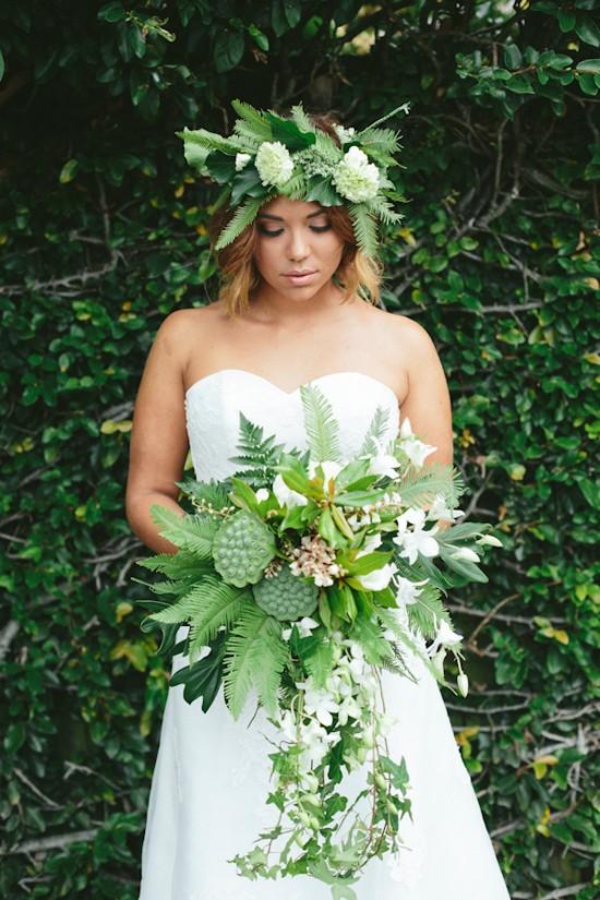 modern greenery wedding inspiration0031