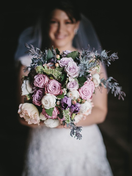 Autumn Wedding Merci Bouquet