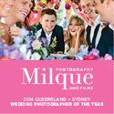 Milque Photography + Film Bride banner