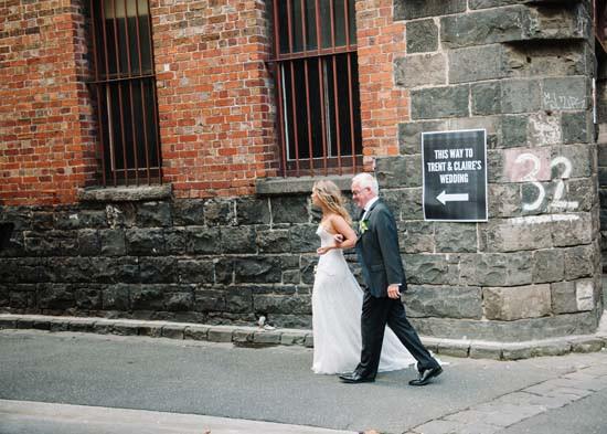 city laneway wedding0024