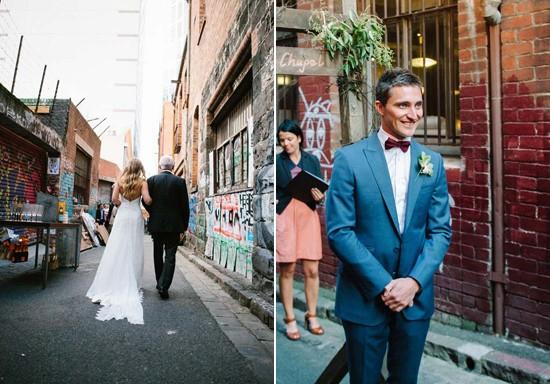 city laneway wedding0028