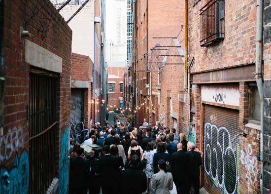 city laneway wedding0033