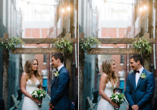city laneway wedding0038