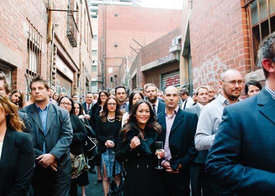 city laneway wedding0041