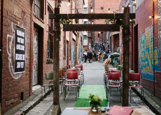city laneway wedding0067