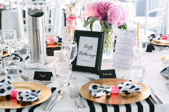 fun kate spade inspired wedding0056