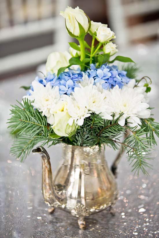 sparkling silver bridal shower ideas0003