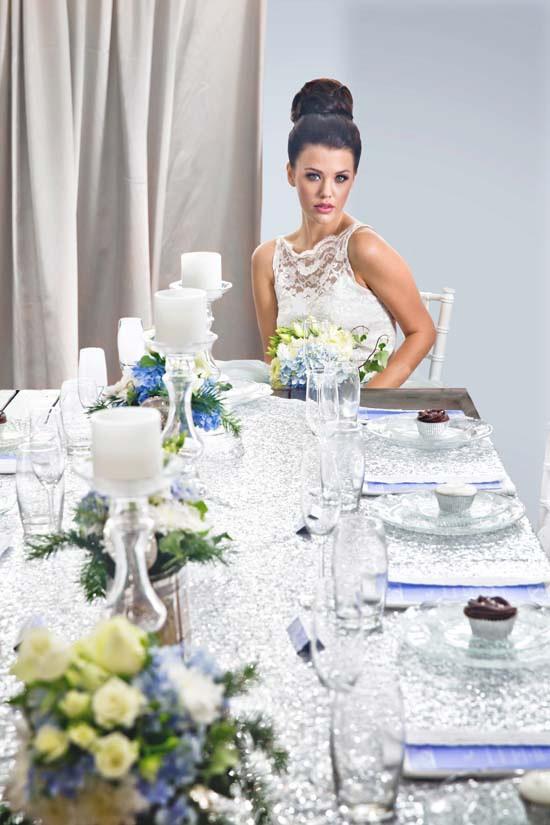sparkling silver bridal shower ideas0029