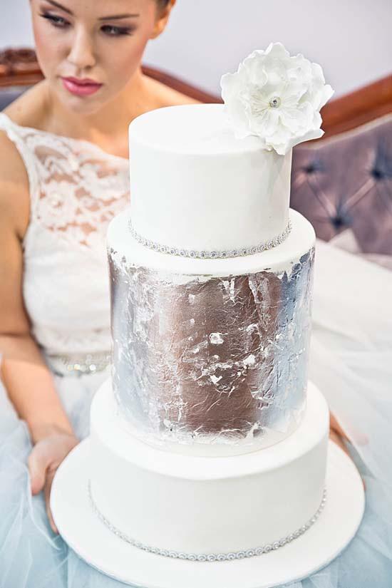 sparkling silver bridal shower ideas0084