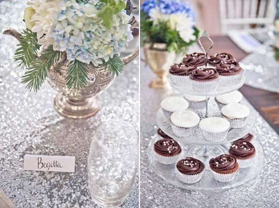 sparkling silver bridal shower ideas0103