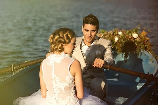 vintage rowboat wedding inspiration0005