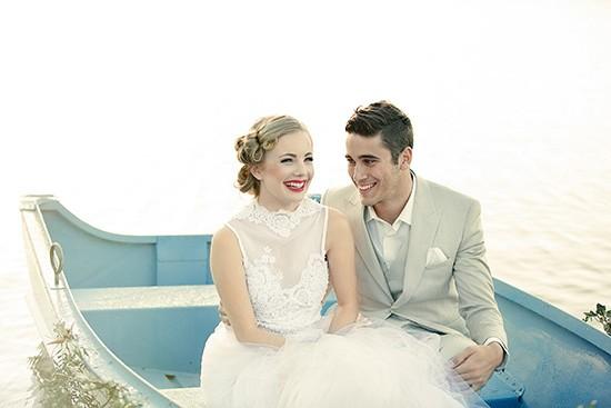 vintage rowboat wedding inspiration0014
