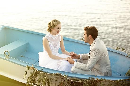 vintage rowboat wedding inspiration0023