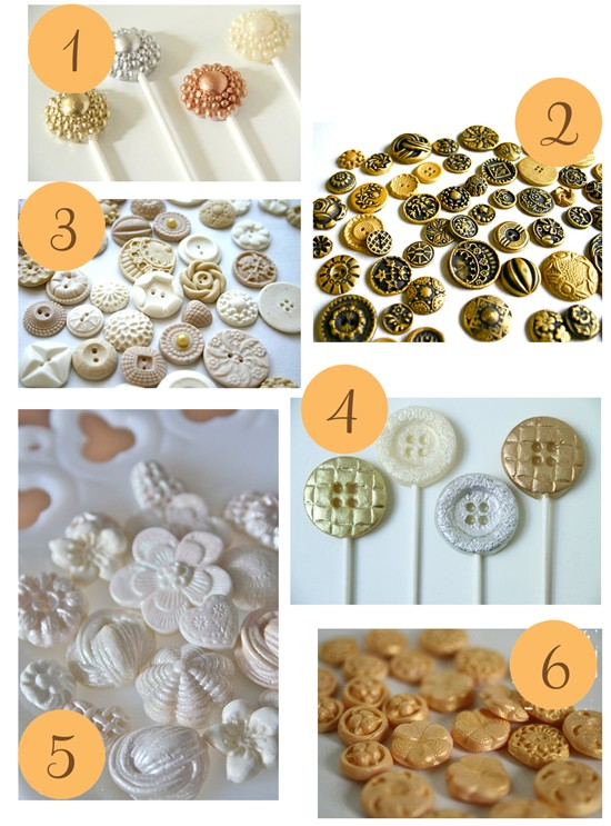 Edible Candy Buttons