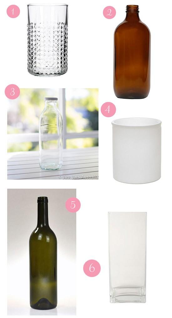 alternatives to mason jars