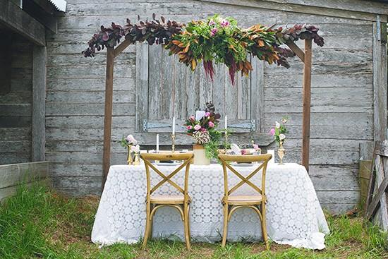 bohemian country wedding ideas0009