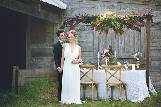 bohemian country wedding ideas0023