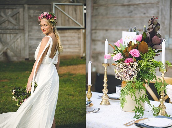 bohemian country wedding ideas0086