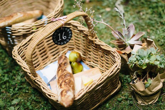 cheese picnic wedding