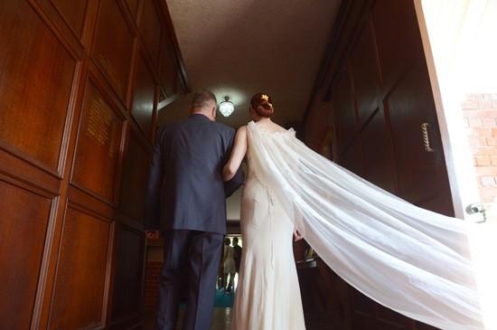 chic town hall wedding0008