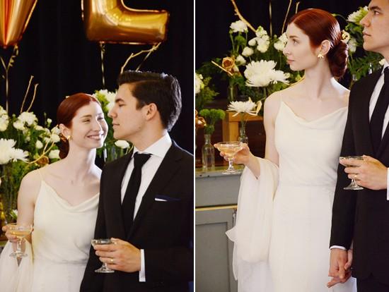 chic town hall wedding0026