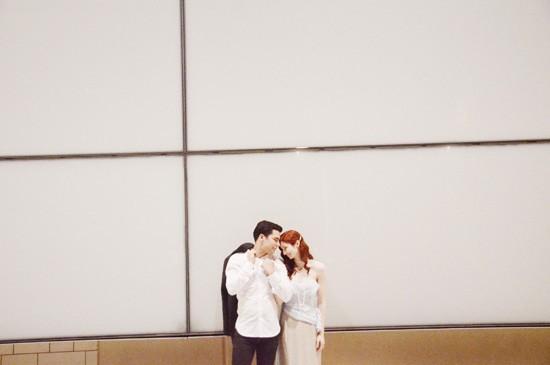 chic town hall wedding0053