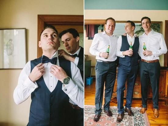 cosy black tie wedding0001