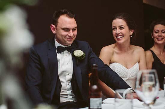 cosy black tie wedding0110