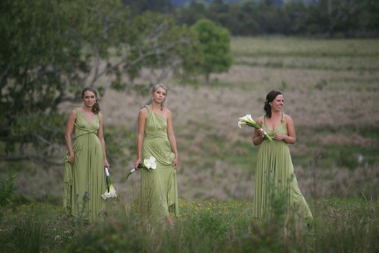 green twobirds bridesmaid gowns