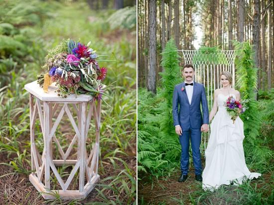 modern forest wedding inspiration0001